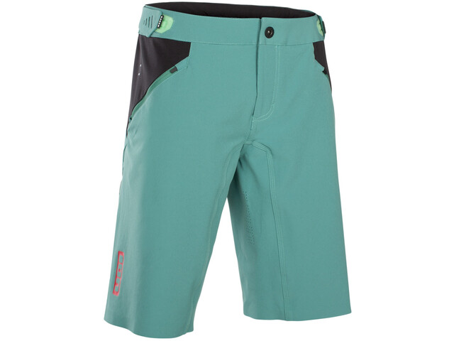ION Traze AMP Bike Shorts Herr sea green